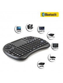 Wireless Mini Gaming Keyboard with Fly Air Mouse for Android TV Box Laptop Tablet PC Mobiles English Arabic