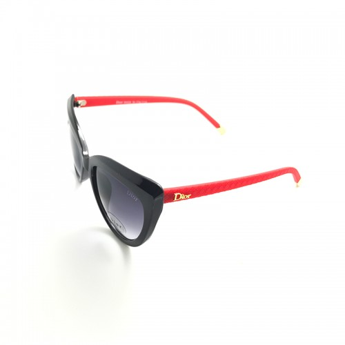 DIOR Blue Lens Blue Temple Red Frame Sun...