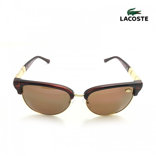 LACOSTE Brown Lens Brown Temple Brown  F...