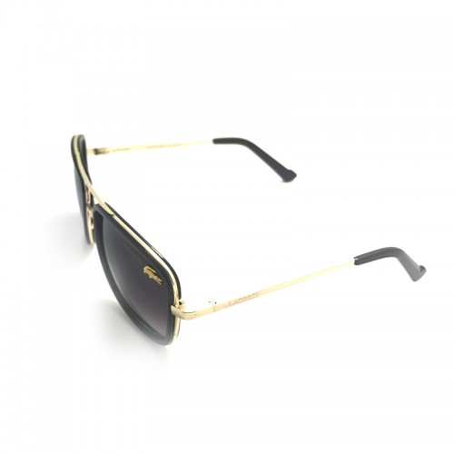 LACOSTE Blue Lens Brown Temple Gold Fram...