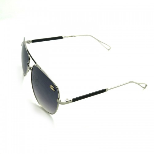 LACOSTE Blue Lens Silver Temple Silver F...