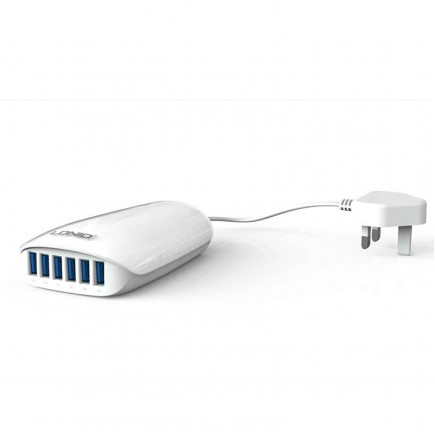 LDNIO 6 USB Port Charger