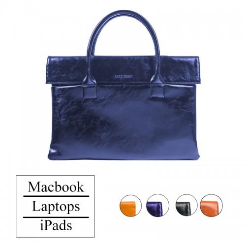 LEOCKEE Leather Bag For MacBook and iPad...