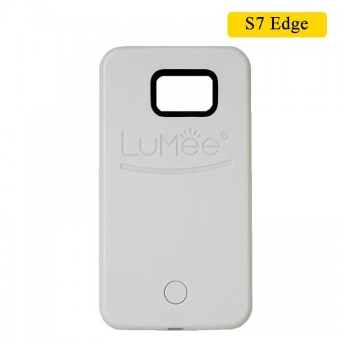 LUMEE Case For Samsung S7 Edge - White