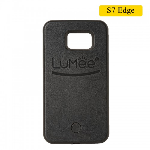 LUMEE Case For Samsung S7 Edge - Black