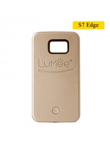 LUMEE Case For Samsung S7 Edge - Gold