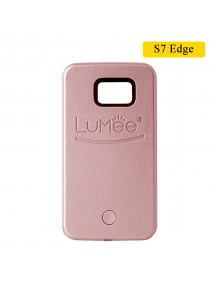 LUMEE Case For Samsung S7 Edge - Rose Gold