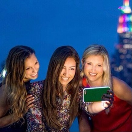 LUMee Illuminated Selfie Case For iPhone 7 - Rose Gold