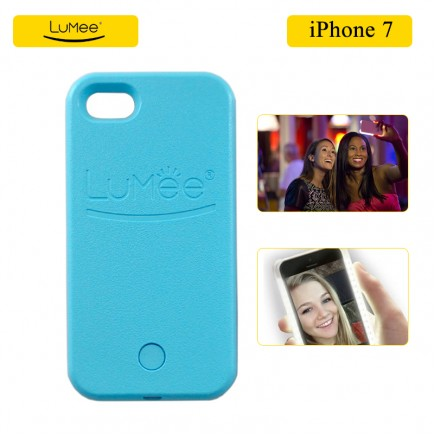 LUMee Illuminated Selfie Case For iPhone 7 - Sky Blue