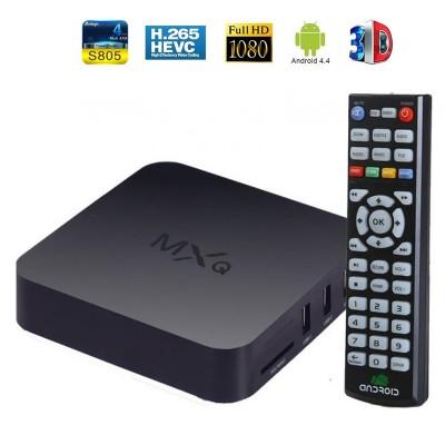 MXQ Quad Core Android TV Box 1 GB RAM , 8 GB HDD