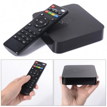 MXQ Quad Core Android TV Box