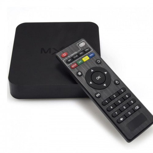 MXQ Quad Core Android TV Box  1 GB RAM , 8 GB HDD