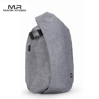 Mark Ryden Men 15.9 Inch Laptop Backpacks For Teenager Travel Anti-theft Waterproof Backpack - Dark Gray