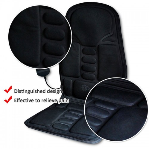 2-in-1 Car Seat  Temperature Comfortable Heating, 8 Function Massaging Car Seat Cushion
