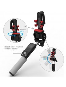 360 Degree Rotation Monopod For All Samrt Phones - Black
