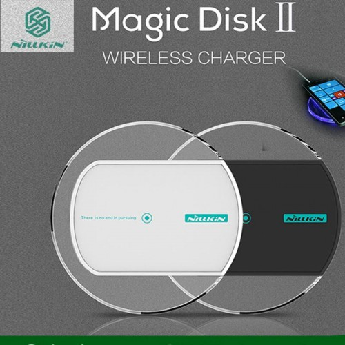 NILLKIN Magic Disk II wireless charger For Samsung Smart phones - Black