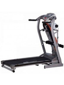 Patent ZC-2000B Motorized Treadmill With Sit-Up Bench,  Massager & Dumbbells