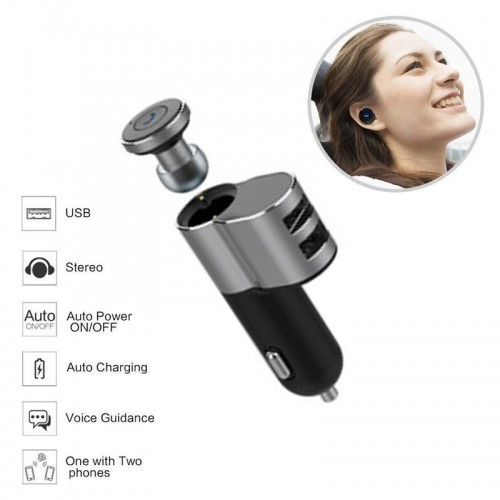 OVEVO Super Mini Headset with Portable 2...