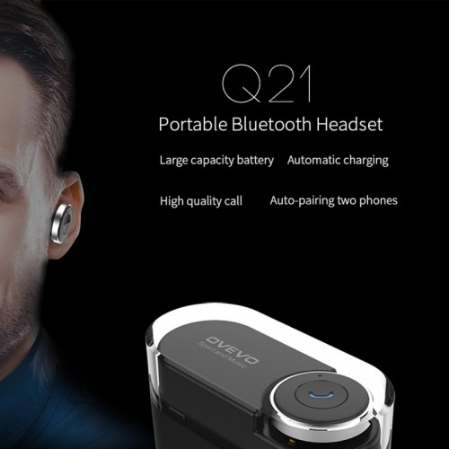 OVEVO Bluetooth Stereo Headset with Power Bank To Charge