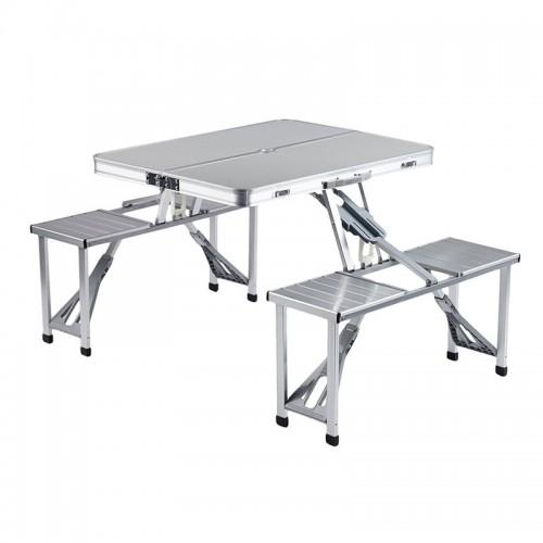 Aluminum  Portable Folding Picnic Table ...