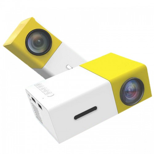 MINI LED High Resolution Projector - Yellow