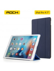 "ROCK Solid Triple Folding Flip PU Smart Case for Apple ipad pro 9.7"" inch - Blue"