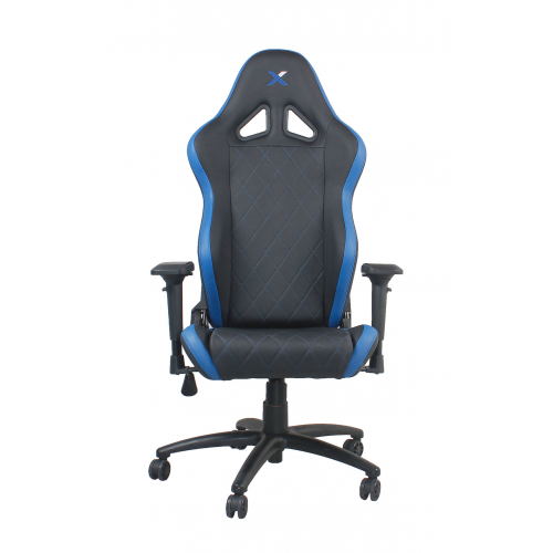 RapidX Ferrino Series Gaming Chair - Blu...