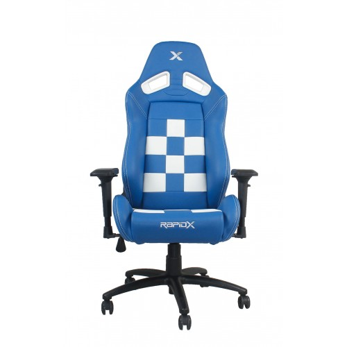 RapidX Finish Line Series Gaming Chair -...