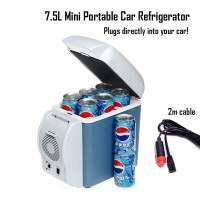 Portable  Cooling & Heating Refrigerator For Car 7.5L