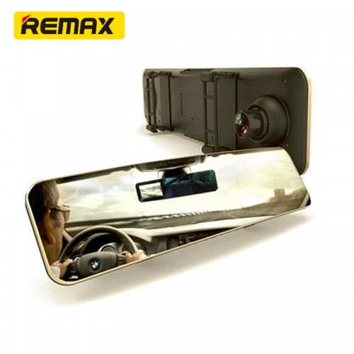 Remax CX-02 Car Dashboard Camera and Rear View Mirror DVR 1080P HD 30FPS Night Vision Camera  4.3inch LCD Display
