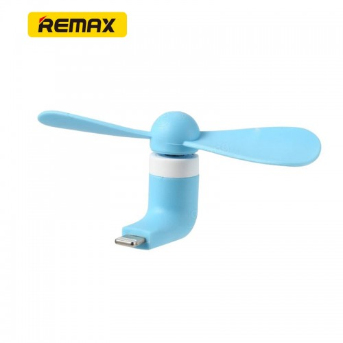 REMAX Portable Mini USB Fan For IOS Devices  - Blue