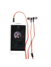 REMAX RM-535 Noise Isolating Stereo Hi-Fi with Mic In-Ear Wired Headphone - White