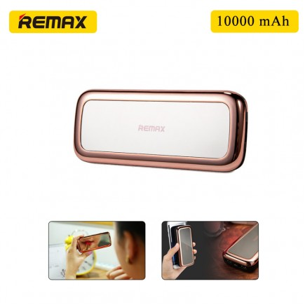 REMAX PPL-35 Portable 10000 mAh Mirror Power Bank - Rose Gold