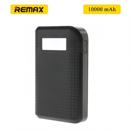 REMAX Prada 10000 mAh Power Bank For All Smart Phones & Tablets - Black
