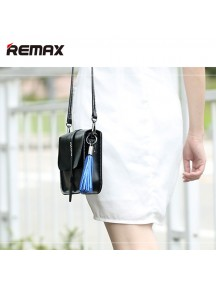 REMAX Tassels Ring Keychain USB 3A Charge/Syn Lightning Cable -White