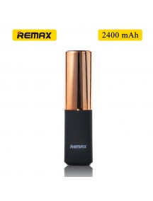 Remax MINI Lipmax 2400mAh Power Bank For Smartphones & Tablet - Gold