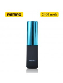 Remax MINI Lipmax 2400mAh Power Bank For Smartphones & Tablet - Mint Green