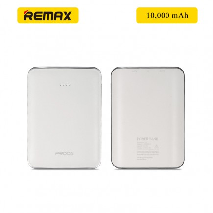 REMAX Prada MINK 10000 mAh Power Bank - White