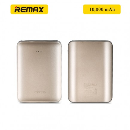 REMAX Prada MINK 10000 mAh Power Bank - Gold