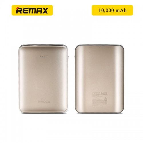 REMAX Prada MINK 10000 mAh Power Bank - Gold