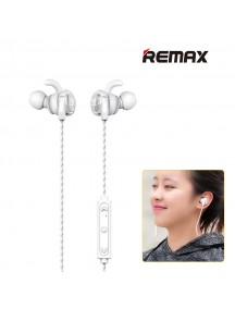 REMAX RB-S10 Special Design Slim Magnetic Wireless Headset - Silver