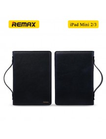 REMAX Ranger 2 in 1 Multi-Functional PU Leather Versatile Clutch Hand Bag for iPad Mini 2/3 - Black