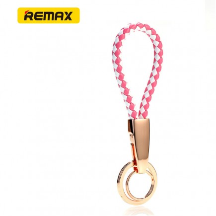 REMAX Key Lanyard Holders Sports keychain - White/Pink