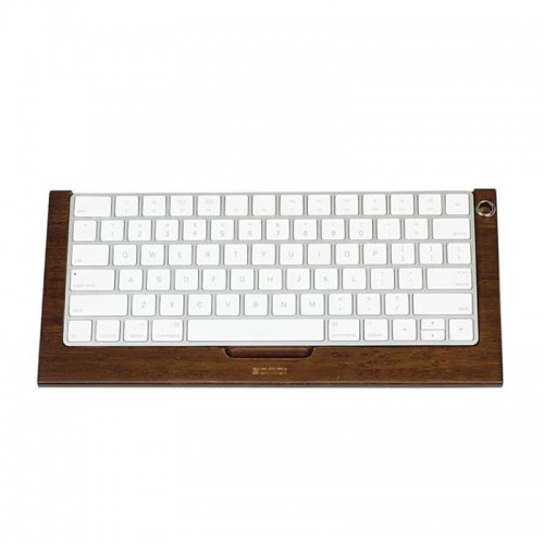 Samdi Bamboo Bluetooth Wireless Keyboard...
