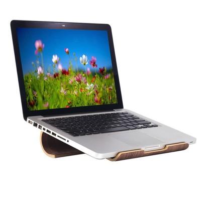 SamDi Wooden Stand For MacBook & iPads - Walnut Wood