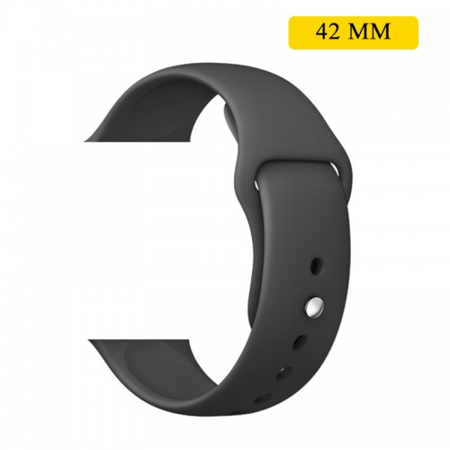 Silicon Soft Sports Watch Band For 42 MM...