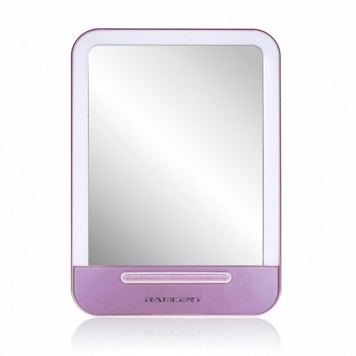 LED Cosmetic Portable Makeup Mirror  wit...