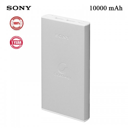 Sony 10,000 mAh Dual USB Slim Power Ban...
