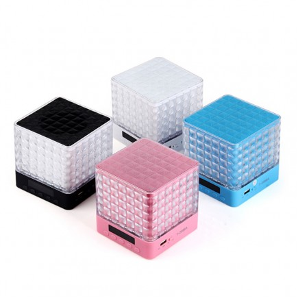 Portable Mini Bluetooth Speaker For All Smart Phones & Tablets - Pink