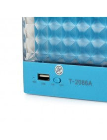 Portable Mini Bluetooth Speaker For All Smart Phones & Tablets - Blue